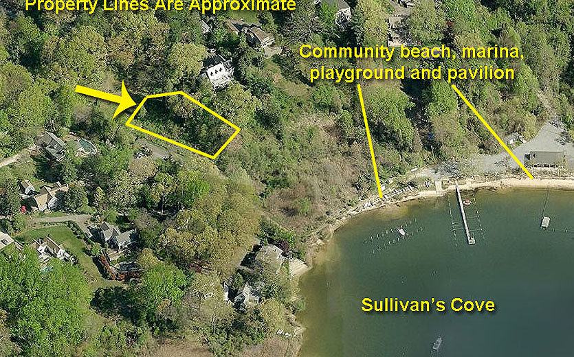 Severna-Park-Maryland-waterview-lot-Aerial-1